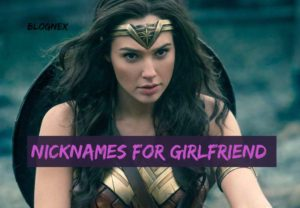 nicknames for girlfriend