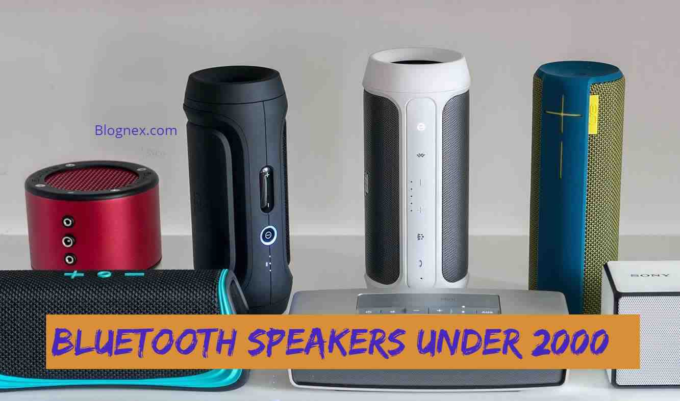 Bluetooth speakers under 2000