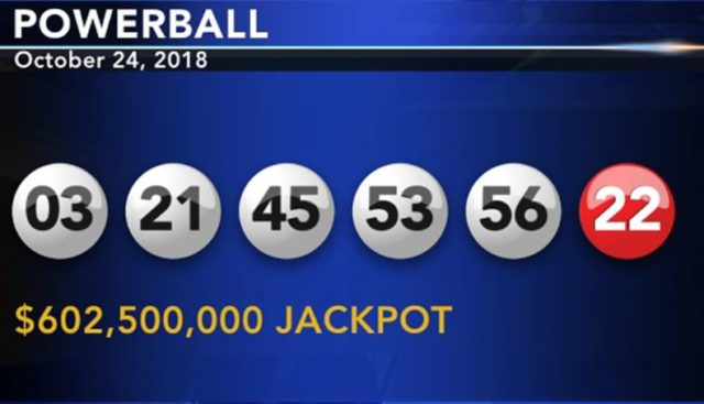 powerball result