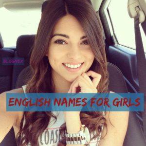 English Names for Girls