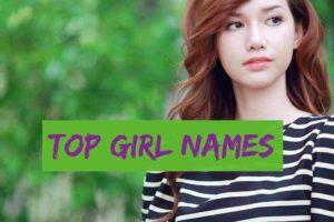 Top Girl Names