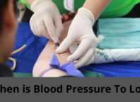 blood pressure to low